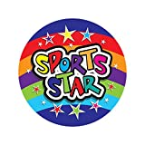 "Sticker Solutions 28 mm ""Sports Star"" Sticker (Pack of 125)"