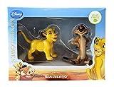 Disney König der Löwen 2 Figuren Junger Simba + Timon in Geschenke-Packung Bullyland
