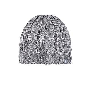 HEAT HOLDERS Damen 1 Pack Heatweavergarn-Mütze mit Wärmerückhaltungswert 3,4 - Hellgrau - One Size