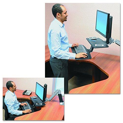 ergotron workfit a support pour tv ordinateur portable. Black Bedroom Furniture Sets. Home Design Ideas