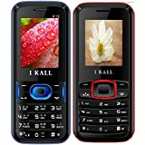 I KALL K12(Blue) And K19(Red) Combo Of Dual Sim Mobile, 1000 MAh Battery Capacity With 101 Days Replacement Warranty With 1 Year Manufacturer Warranty