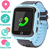 Life Like Kids Smartwatch Phone for Girls and Boys with GPS Locator, Pedometer