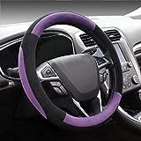 Best Steering Wheel Covers - COFIT Plush Purple Steering Wheel Cover Universal Fit Review