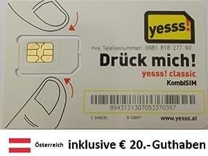 Prepaid Daten Sim Karte für Österreich mit: Amazon.de ...