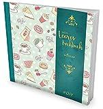 """GOCKLER Leeres Kochbuch: Ein Rezeptbuch zum Selbstgestalten / Selberschreiben  Für 100 Lieblingsrezepte, mit Register uvm.  DesignArt """"Desserts""""  Softcover, ca. 21 x 21 cm"""