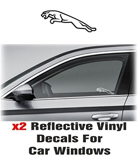 2-x-jaguar-2-window-decal-sticker-graphic-reflective-vinyl-white-grey-
