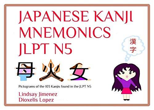 JAPANESE KANJI MNEMONICS JLPT N5: Pictograms of the 103 Kanjis found in the  Japanese Language Proficiency Test N5 (English Edition)