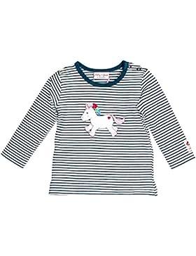 SALT AND PEPPER Baby-Mädchen Langarmshirt BG Longsleeve Stripe Einh Ocs