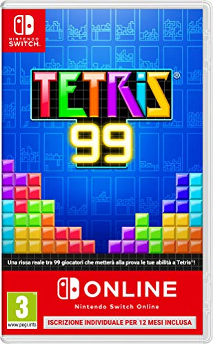 Tetris 99 + Nintendo Switch on Line - Nintendo Switch