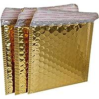 Generic oro: Joy tamaño: 15* 13cm, pequeño envío acolchados con papel de burbujas sobres, oro envío CD/DVD sobres, bolsas para envío de CD/DVD