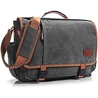 596056b6a5a07 CoolBell 17 Zoll Aktentasche Messenger Bag Umhängetasche Laptop Tasche  Handtasche Business Briefcase Multifunktions Reise Tasche Passend