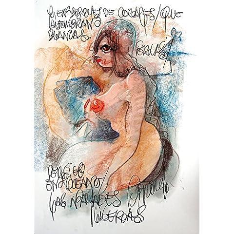 "DIBUJO AL PASTEL: ""Corales"". Dibujo sobre papel. Técnica: pastel. Obra única. Formato: 64 x 45 cm."