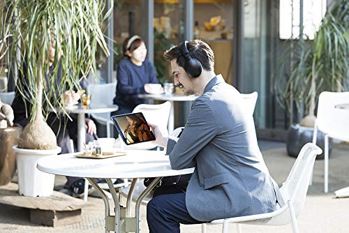 Panasonic RP-HD605NE-K Bluetooth Noise Cancelling Kopfhörer (bis 20 h Akkulaufzeit, Quick Charge, Sprachsteuerung, schwarz) - 15