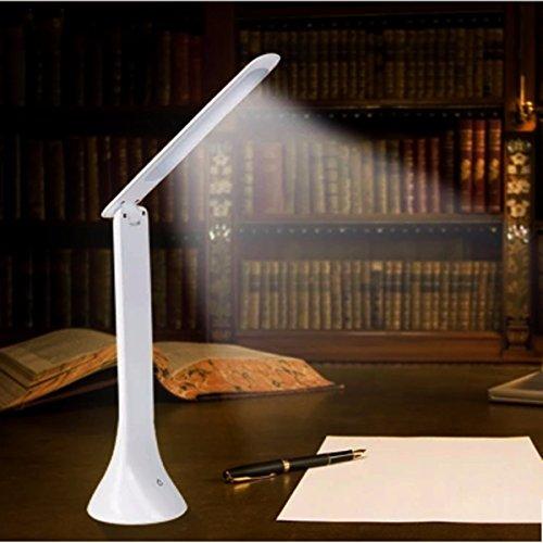 ACDGS Einstellbare USB aufladbare Touch Sensor LED Schreibtisch Tischlampe Leselicht ACDGS