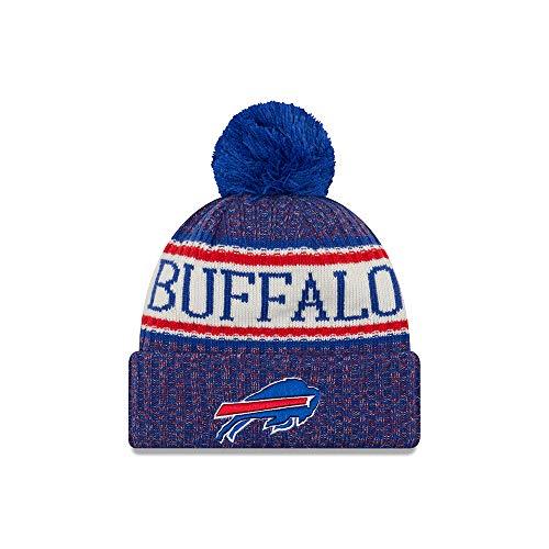 48f2c9df618 New Era NFL Sideline Bobble Knit 2018 2019 Season Beanie (Buffalo Bills)