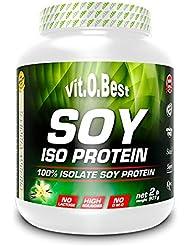 Vit-O-Best Soy Iso Proteínas, Sabor a Chocolate - 907 gr