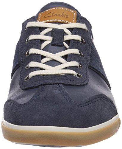 Clarks  Mego Walk, Sneakers basses, homme Bleu - Bleu foncé