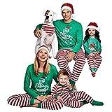 Dehots Ugly Weihnachten Pyjama Schlafanzug Familie Weihnachts Xmas Weihnachtspyjama Nachtwäsche Kostüm Hausanzug Sleepwear Sweater Set Damen Herren Kinder Mädchen Jungen Baby