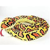 Annastore Schlange aus Plüsch L 254 cm, orange - Zugluftdichtung