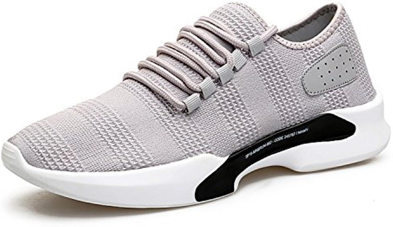 EARSOON Herren Damen Ultraleicht Running Sportschuhe Atmungsaktiv Fitness Laufschuhe Training Air Schuhe Outdoor