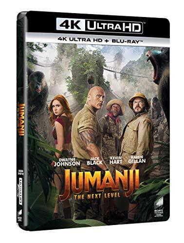 Jumanji: The Next Level - 4K Ultra Hd  (2 Blu Ray)