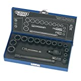 Draper Expert 54714 18-Piece 3/8-Inch Square Drive Impact Socket Set