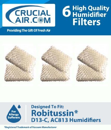 6-robitussin-humidifier-replacement-wick-filter-compare-to-part-ac-813-ac813-ac-813-d13-c-d13c-d13-c