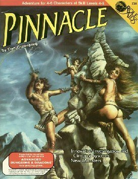 Pinnacle (Role Aids / Advanced Dungeons & Dragons) by Dan Greenberg (1989) Paperback