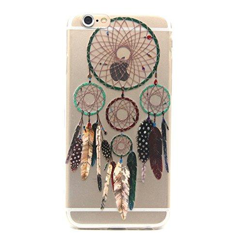 TPU Cuir Coque Strass Case Etui Coque étui de portefeuille protection Coque Case Cas Cuir Swag Pour Apple iPhone 6/ iPhone 6S (4.7 pouces)+Bouchons de poussière (T13) 10