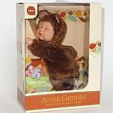 Anne Geddes Bean Filled Soft Body Baby Brown Bear