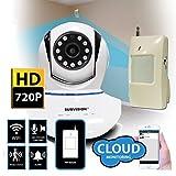 Sumvision Oracle Cloud WiFi HD 720P IP Security Surveillance CCTV Camera & PIR Sensor by Sumvision