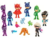 PJ Masks Deluxe 16 pc Figure Set