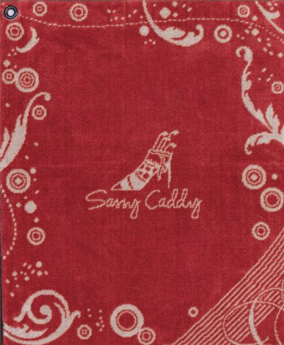 sassy-caddy-womens-golf-towel-red-white