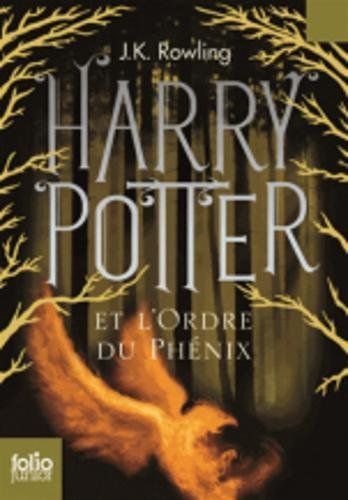 Harry Potter - French: Harry Potter et l'ordre du Phenix FOLIO JUNIOR ED par Alex Sanders