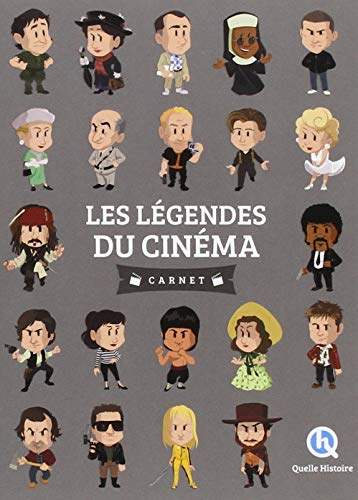 Les légendes du cinéma par Clémentine V. Baron