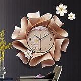 fwerq Horloge Murale Salon ChambreÀ Coucher Cloche dé corative Art Bell Montre de poche Horloge Muet Horloge Murale Accessoires wählen (Farbe: B)