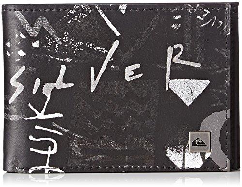 Quiksilver Freshness II Porta Carte di Credito, 13 cm, Hieline Black