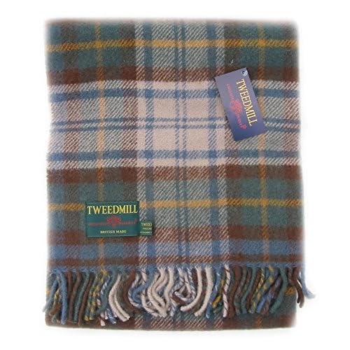 51iRDTxnjJL. SS500  - Antique Dress Gordon tartan wool picnic blanket travel rug