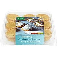 18 Parte Tartaleta de pastelería Casos Waitrose 117g