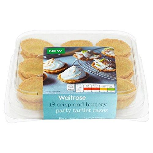 18 Partie Tartelette Pâtisserie Cases Waitrose 117g