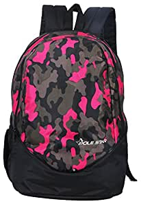 """POLE STAR """"RANGER"""" 31 Ltrs Camo Pink Lite weight Casual Backpack I School Bag"""