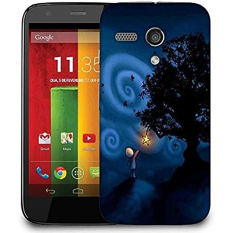 Cover posteriore Snoogg telefono designer di protezione per Motorola MOTO G