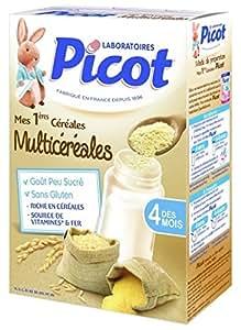 Picot-Cereales Multicereales Sans Gluten Des 4 Mois Picot, 200 G