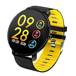 TDOR Smartwatch con Whatsapp Hombre Mujer Reloj Inteligente Android iOS Deportivo, Color Negro 8