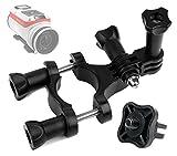 Support fixation pour guidon de vélo pour VTech Kidizoom Action Cam 180 caméra enfant 507005 - DURAGADGET