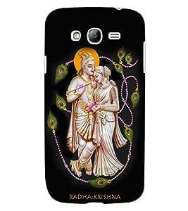 ColourCraft Radha-Krishna Design Back Case Cover for SAMSUNG GALAXY GRAND NEO I9060