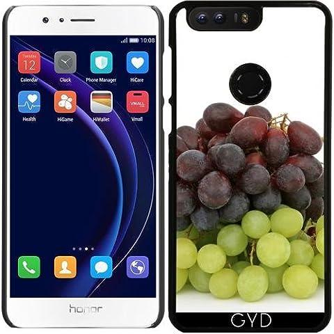 Custodia per Huawei Honor 8 - Uva Frutta Verde Affamato by WonderfulDreamPicture