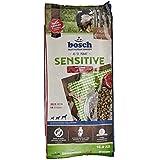 bosch Hundefutter Sensitive Lamm und Reis, 1er Pack (1 x 15 kg)