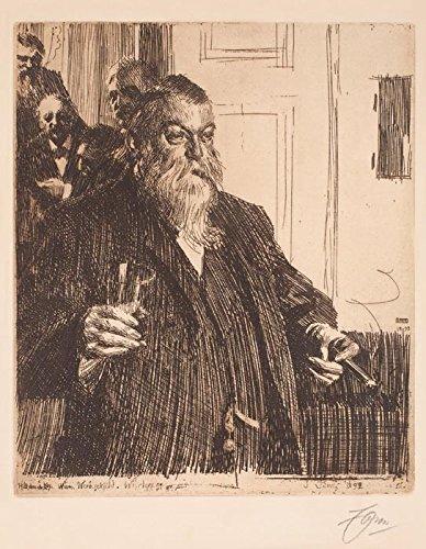 Das Museum Outlet-Anders Zorn-Ein Toast (Idun) II (Ätzen) 1893-A3Poster