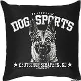Kissen mit Füllung - Dog Sports Deutscher Schäferhund - Das Kissen für Hundefreunde!
